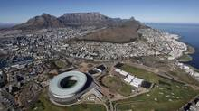 Cape Town's 70,000-seat Green Point Stadium, built for $600-million (U.S.) at FIFA's behest for the World Cup 2010, is now losing an estimated $6-million to $10-million annually. (Dean Treml/Reuters)