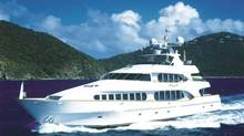 The yacht called Touch was owned by Tony Accurso, the onetime construction boss accused of a raft of corruption-related charges who has been a central figure at the Charbonneau inquiry examining corruption in the province's construction industry. (WWW.FRASERYACHTS.COM)
