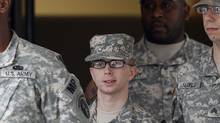 Pfc. Bradley Manning is escorted from a courthouse in Fort Meade, Md., Wednesday, Dec. 21, 2011. (Patrick Semansky/Patrick Semansky/AP)