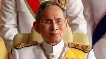 During the reign of King Bhumibol Adulyadej, shown in 2010, Thailand moved from an agricultural economy to a one of industry and commerce. (SUKREE SUKPLANG/REUTERS)