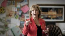 Surrey Mayor Dianne Watts in her office in Surrey, B.C., November 4, 2010. (JOHN LEHMANN/THE GLOBE AND MAIL)