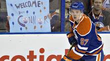 It was just a midseason game between two of the league's worst teams, but there was real excitement at Rexall Place for Connor McDavid's return on Feb. 2. (JASON FRANSON/THE CANADIAN PRESS)