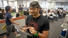 Extreme Venture Partners founder Amar Varma. (JENNIFER ROBERTS/Jennifer Roberts for the)