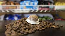 Club Coffee says its coffee pods work in Keurig machines, and that Keurig is asserting otherwise. (Peter Power For The Globe and Mail)
