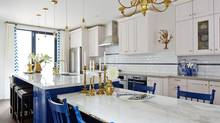 Making cabinets freestanding allows for breathing room, especially if the ceiling isn't level. (Photos by Stacey Brandford)