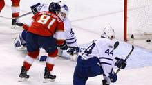 The Leafs losing 7-2 to the Florida Panthers on Mar. 14 is a prime example of the players seemingly forgetting their lessons. (Robert Mayer/USA Today Sports)