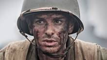 In Hacksaw Ridge, Andrew Garfield plays Desmond Doss, an idealistic young man who convinces the army to send him overseas as a medic in the Second World War (Mark Rogers/Summit via AP)