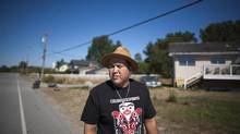 Chief Bryce Williams, 23, of the Tsawwassen First Nation was a surprise winner in September's election for chief. (Rafal Gerszak for The Globe and Mail)