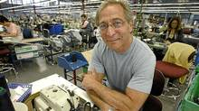 Bob Silver, president of Western Glove Works makers of Silver and 1921 jeans, photographed in his Winnipeg company's now closed sewing room Friday, June 30, 2006 (John Woods/The Canadian Press/John Woods/The Canadian Press)