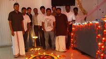 Replicon's staff in India celebrate Diwali.