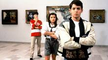 FERRIS BUELLER'S DAY OFF, Alan Ruck, Mia Sara and Matthew Broderick. (©Paramount/Courtesy Everett Col)
