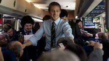 "Ryan Gosling (centre) in a scene from ""The Ides of March"" (Saeed Adyani)"