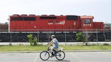 Both CP and rival CN have had terrific runs of late but many analysts aren't convinced of the potential for further big gains. (NATHAN DENETTE/THE CANADIAN PRESS)