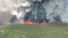 A Natural Resources Canada study that looked at the impact of climate change on forests found that B.C.'s fire season will be 50 days longer by 2040. (THE CANADIAN PRESS)