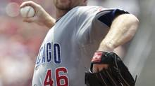 The Toronto Blue Jays could be in the market for Chicago Cubs Canadian pitcher Ryan Dempster. (JOHN SOMMERS II/REUTERS)
