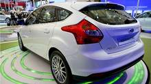 Ford Focus Electric at Auto Shanghai 2011. (Ford Ford)