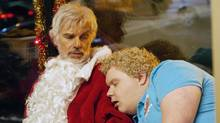 Billy Bob Thornton stars as Willie Soke and Brett Kelly as Thurman Merman in Bad Santa 2. (Jan Thijs/Jan Thijs)