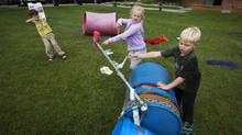 Playing it safe may have its drawbacks for kids, as risky play has been linked to better balance and co-ordination, as well as improved creativity and social skills. (<252>Todd Korol for The Globe and Mail)