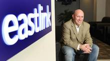 Lee Bragg ,CEO of Eastlink, at his corporate office in Halifax, November 20, 2012 . (PAUL DARROW For The Globe and Mail)