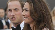 Britain's Prince William, the Duke of Cambridge, and his wife Kate, Duchess of Cambridge, Thursday, June, 9, 2011. (Alastair Grant/ The Associated Press/Alastair Grant/ The Associated Press)