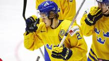 William Nylander enjoyed a strong first half this season before he suffered a concussion playing for Sweden at the world junior hockey championship in Helsinki. (Roni Rekomaa/Lehtikuva OY)