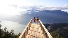 The Sea to Sky Gondola outlook viewing platform offers stunning, panoramic views. (Paul Bride/Sea to Sky Gondola)