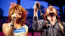 Members of Broken Social Scene perform at The Harbourfront Centre in Toronto, July 11, 2009. (Ryan Enn Hughes/The Globe and Mail)
