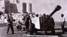 October, 1962 A Cuban army anti-aircraft battery in Havana. (REUTERS)