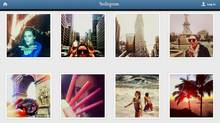 Screen capture from Estee Lauder's Instagram account. In March, model Hilary Rhoda took over Estee Lauder's Instagram account. Posing in various places throughout New York with items from the company's new Bronze Goddess collection, she offered giveaways for the first five people who guessed her location. She was able to boost consumer engagement and drive more people to the account (Estee Lauder)