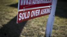 Canada Mortgage and Housing Corp. will increase the risk rating in its overall assessment of the country's residential market to 'strong' from 'moderate' when it issues a new report on Oct. 26. (Moe Doiron/Moe Doiron/The Globe and Mail)