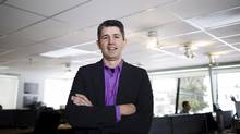 Shawn Neumann, founder and president of Domain7 (Rafal Gerszak/RAFAL GERSZAK FOR THE GLOBE AND MAIL)