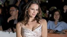 "Actress Jennifer Garner poses at the gala for the film ""Butter"" during the Toronto International Film Festival in Toronto Tuesday, September 13, 2011. (THE CANADIAN PRESS / Darren Calabrese/THE CANADIAN PRESS / Darren Calabrese)"