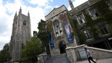 The University of Toronto. (Kevin Van Paassen/The Globe and Mail)