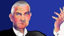 Illustration of Andrea Illy, chief executive officer and co-owner, Illycaffe SpA. (ANTHONY JENKINS/THE GLOBE AND MAIL)