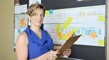 Tim Hortons' director of continuous improvement, Callie Woodward. (Kelley Claremont/Kelley Claremont)