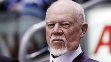 Hockey commentator and former coach Don Cherry looks on during the 2011 CHL/NHL top prospects skills competition in Toronto, January 18, 2011. (Reuters)