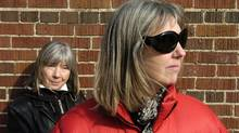 Kate McGarrigle (right) with her sister Anna: Kate was the more outspoken one. (Louie Palu/The Globe and Mail)