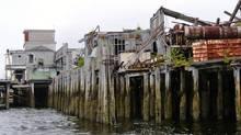 The dock in Namu B.C. (Mark Hume/The Globe and Mail)