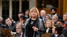 MaryAnn Mihychuk responds to a question during question period in the House of Commons in Ottawa on Feb. 5, 2016. (Sean Kilpatrick/THE CANADIAN PRESS)