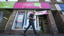 Wind Mobile's parent says it is participating in the court-monitored sale of rival Mobilicity. (Kevin Van Paassen/The Globe and Mail)