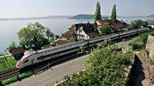 Rail Europe has a summer promotion, including WiFi, for those who buy a first class, eight-day Swiss Pass.