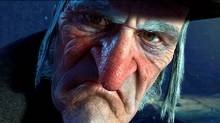 Jim Carrey, digitally enhanced, voices Ebenezer Scrooge, all sharp nose and pointed chin. He never allows the role to slip into safe caricature. This Scrooge isn't comically nasty – he's truly, madly, deeply mean.