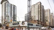 The construction site of the Jubilee House, a social housing project in Vancouver, B.C., on January 27, 2015. The city said Brenhill would be providing $24-million worth of social housing to replace Jubilee House. (Jimmy Jeong for The Globe and Mail)