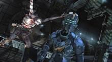 A screenshot of Dead Space 2 (Electronics Arts)