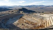Barrick Gold Corp.'s Cortez Hills deposit in Nevada. Source: Barrick Gold Corp. (via Bloomberg)
