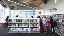 Toronto's Fort York Library. (Fred Lum/The Globe and Mail)