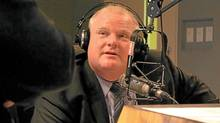 "Mayor Rob Ford and brother, Doug Ford , spoke with Newstalk 1010 host Jerry Agar Feb. 23, 2012 about their new show ""The City"" which will air every Sunday 1 - 3 p.m. (Newstalk 1010/Newstalk 1010)"