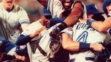 Blue Jays win the 1992 World Series (Rusty Kennedy/AP)