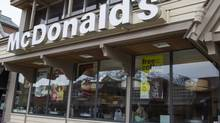 Even with recent share-price gains, the yields on defensive stocks, such as McDonald's, average 3.2 per cent, which is meaningfully above the average of 2.1 per cent for cyclicals. (Chris Bolin For The Globe and Mail)