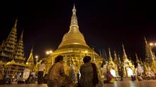With Burma back on the tourist map, Yangon and its timeless temples, is now on the itinerary. (Vincent Thian/AP)